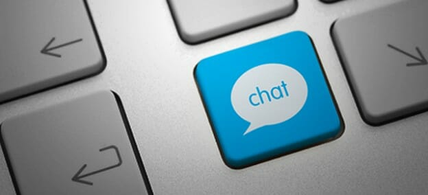 live-chat-keyboard
